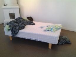Vahinkoraja installation in Rauma Art Museum, Rauma, Finland