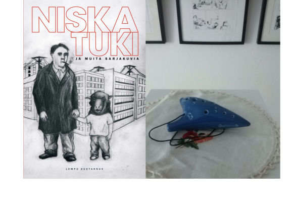 Niskatuki ja muita sarjakuvia / Headrest comics anthology and exhibition